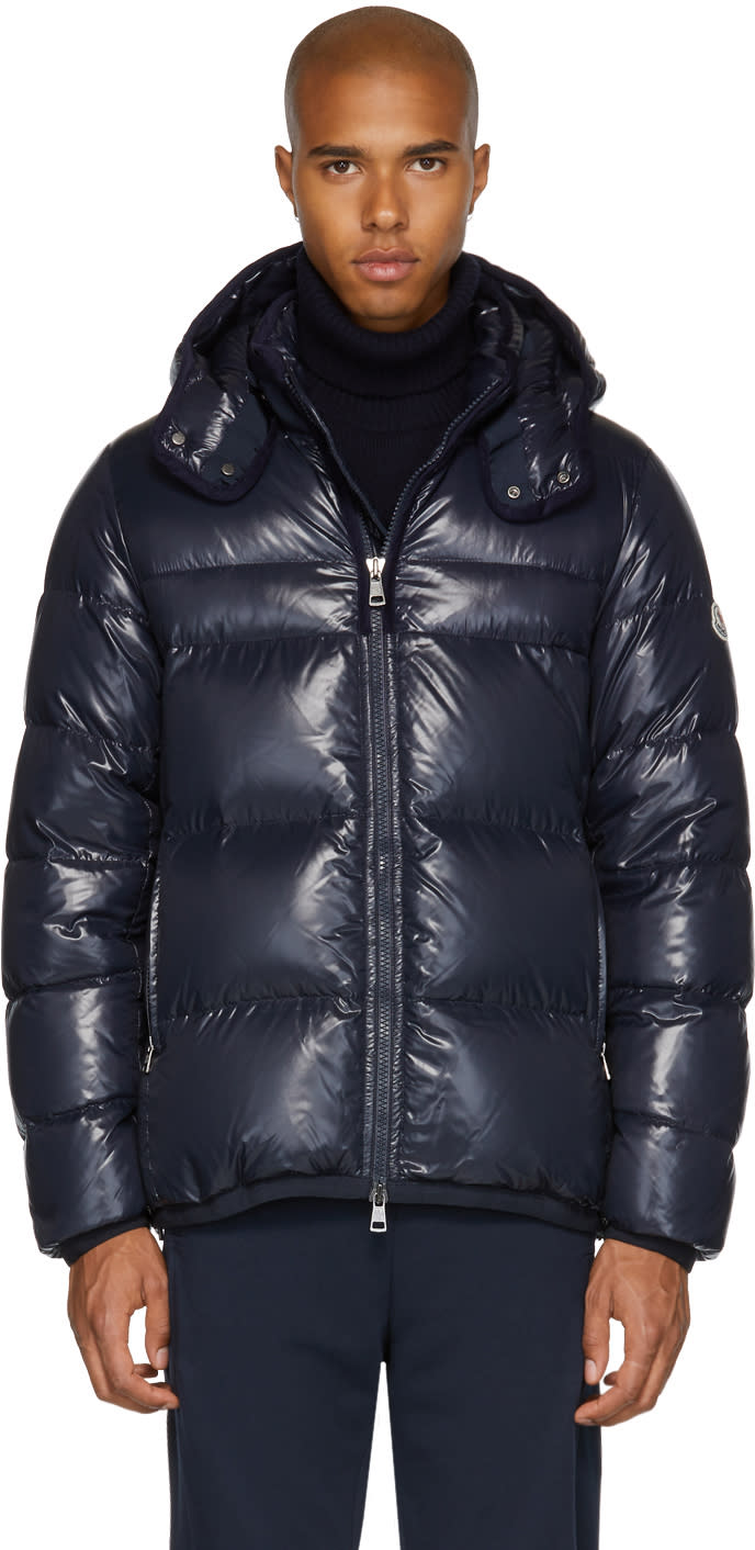 Moncler Navy Down Harry Jacket