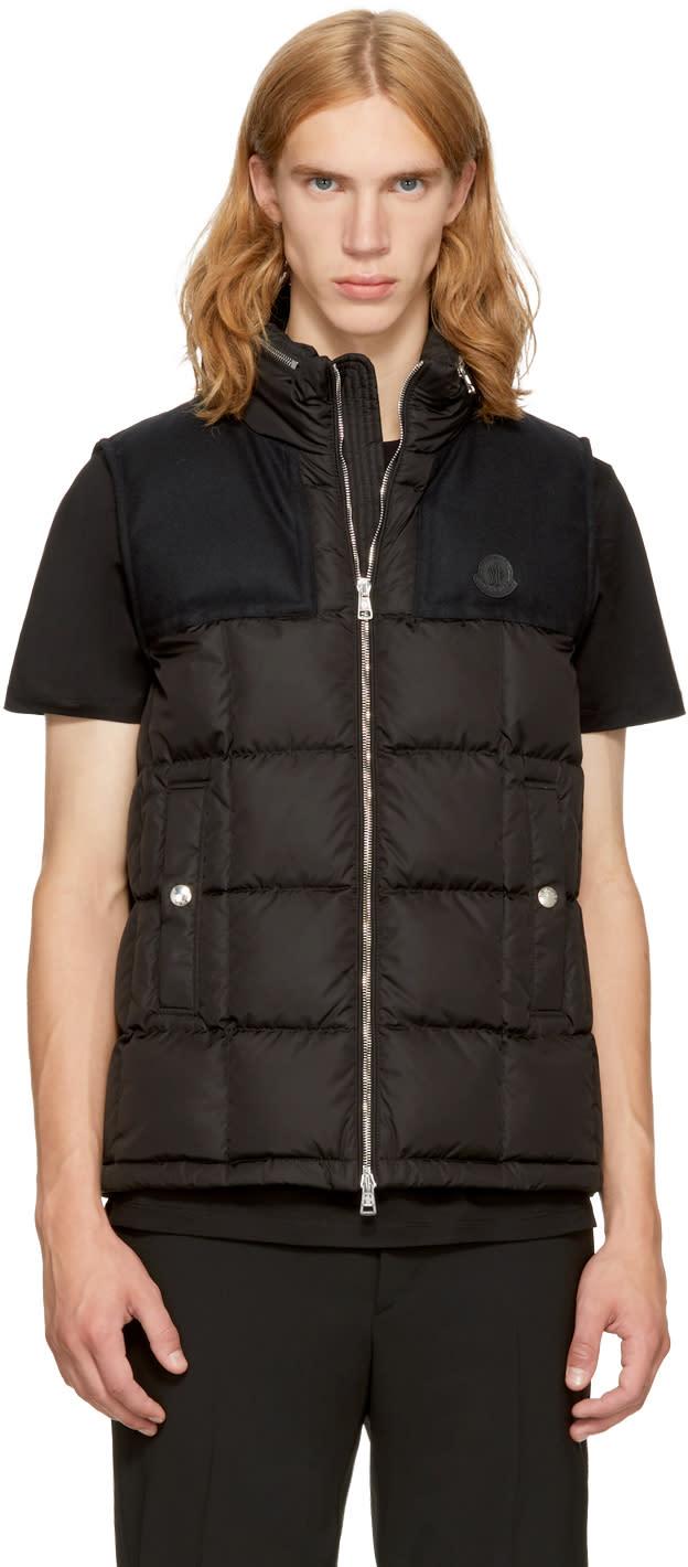 Moncler Black Down Cesar Vest
