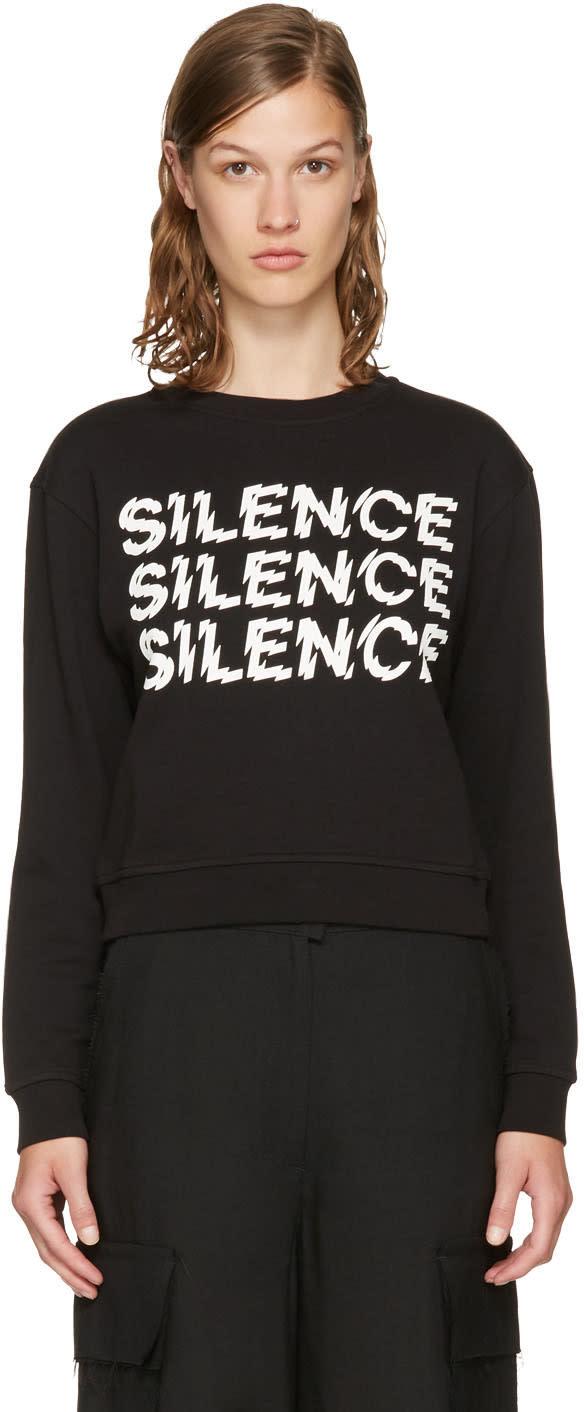 Mcq Alexander Mcqueen Black silence Sweatshirt