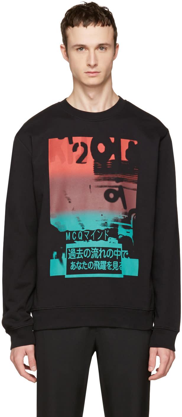Mcq Alexander Mcqueen Black Katsumi Clean Sweatshirt