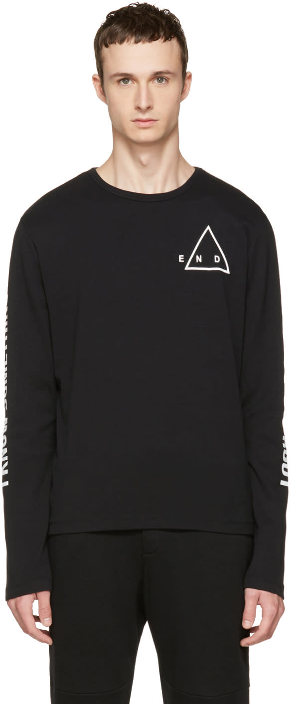 Mcq Alexander Mcqueen Black Kid T-shirt