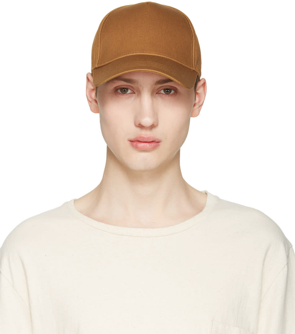 Tiger Of Sweden Brown Alford Cap