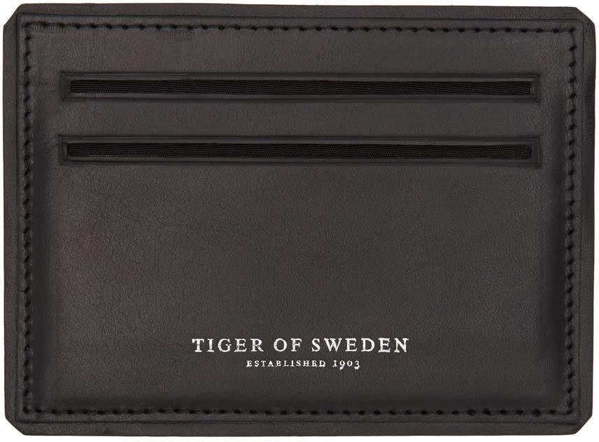 Tiger Of Sweden Black Lonka Card Holder