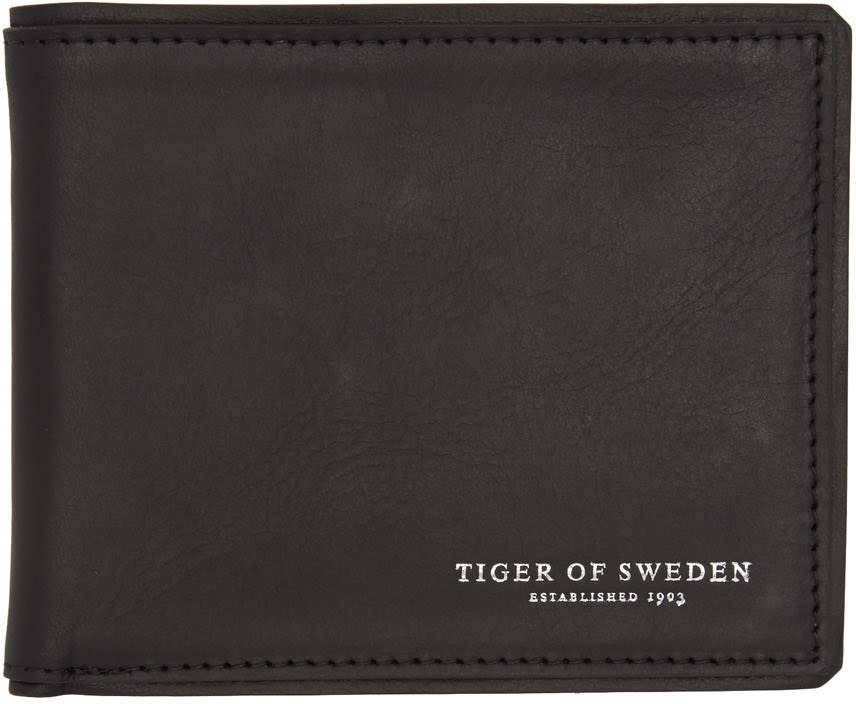 Tiger Of Sweden Black Lehto Wallet