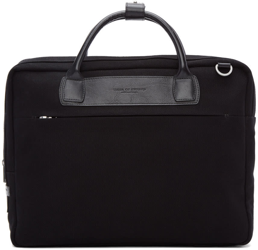 Tiger Of Sweden Black Bilston Briefcase