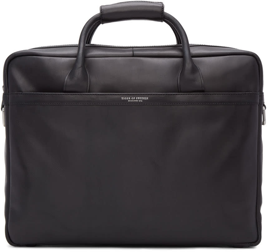 Tiger Of Sweden Black Mannes Briefcase