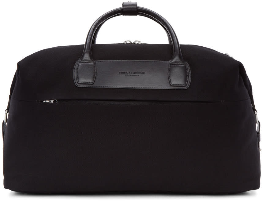 Tiger Of Sweden Black Ealing Duffle Bag