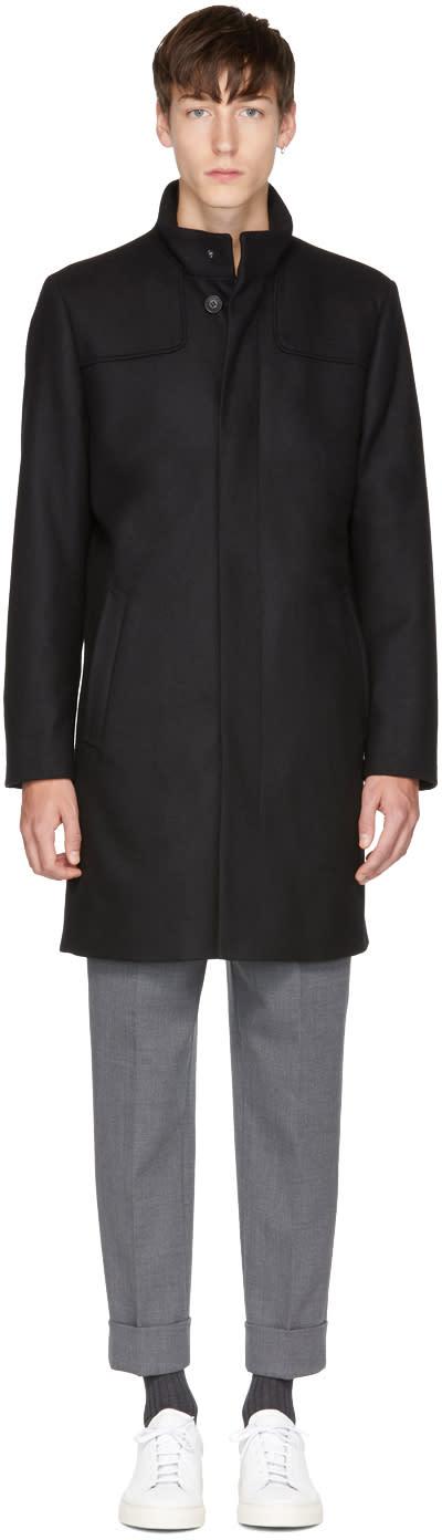 Image of Tiger Of Sweden Black Egal 4 Coat