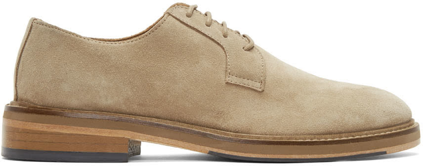 Tiger Of Sweden Beige Suede Selby S Derbys