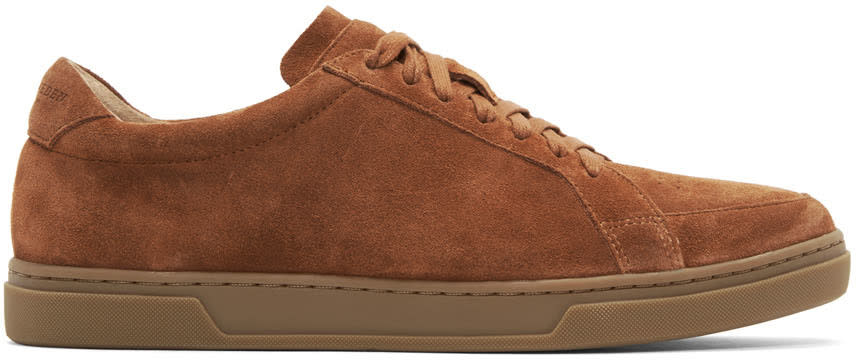 Tiger Of Sweden Brown Suede Arne S Sneakers