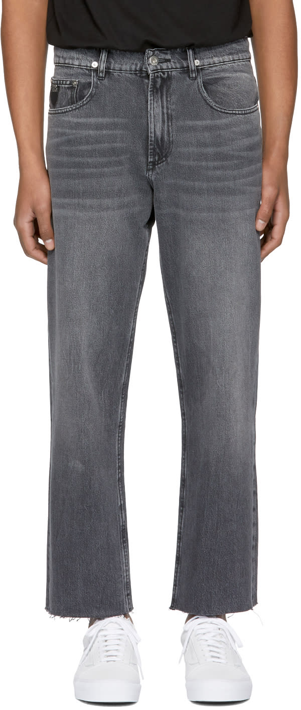 Image of April77 Black Flip Open Skate Jeans