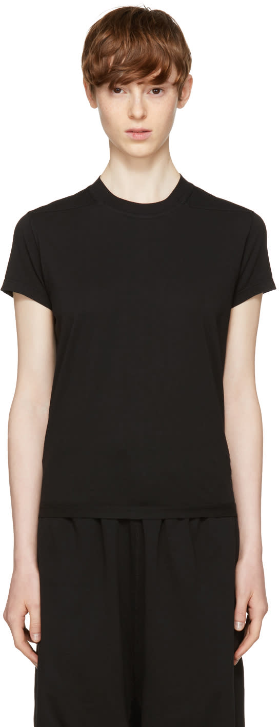 Image of Rick Owens Drkshdw Black Small Level T-shirt