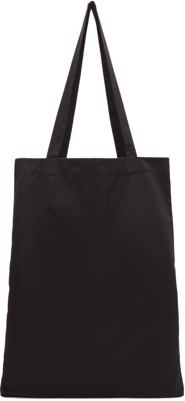 Image of Rick Owens Drkshdw Black Classic Logo Tote