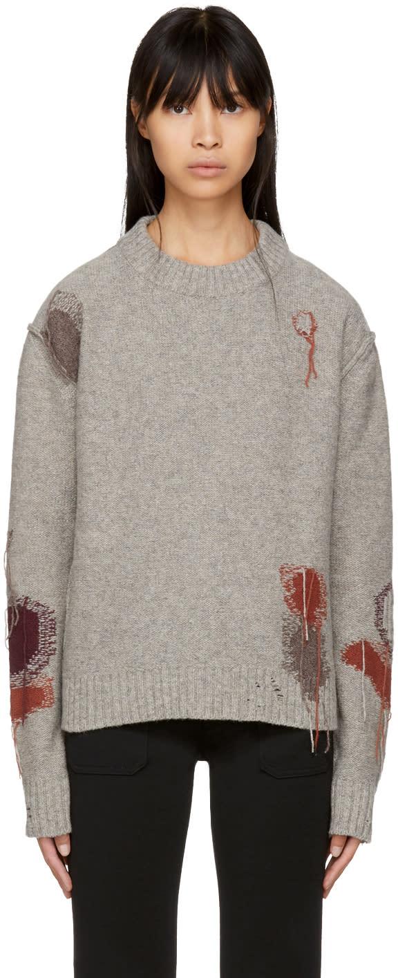 Image of Acne Studios Beige Leniz Sweater