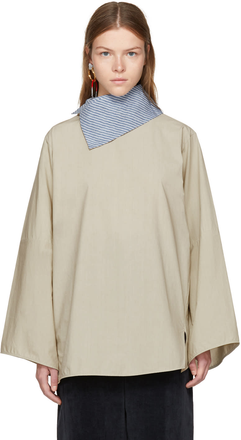 Image of Acne Studios Beige Bep Blouse