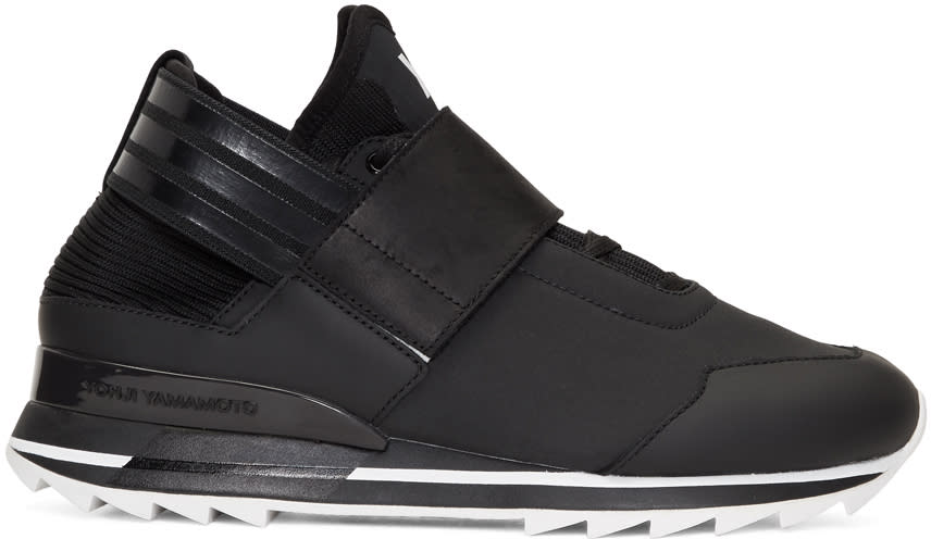 Image of Y-3 Black Atira Sneakers