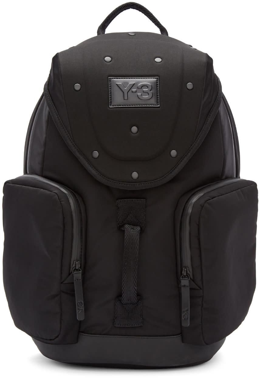Image of Y-3 Black Armor Backpack