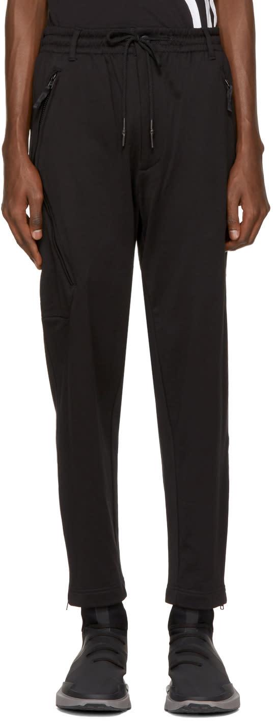Y-3 Pantalon De Survêtement Noir Core