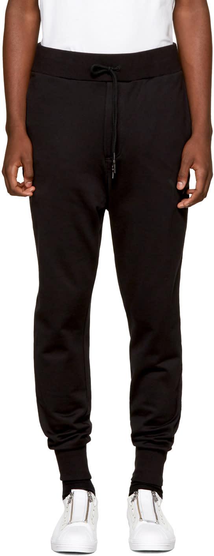 Y-3 Pantalon De Survêtement Noir Classic Cuffed