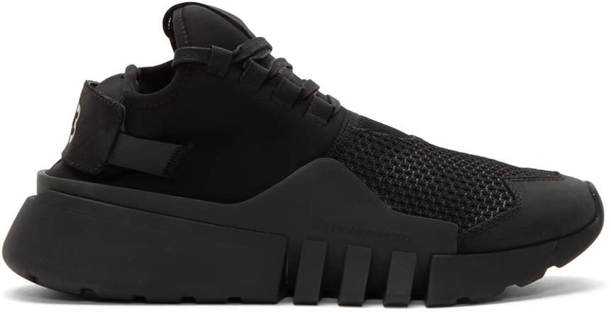 Image of Y-3 Black Ayero Sneakers