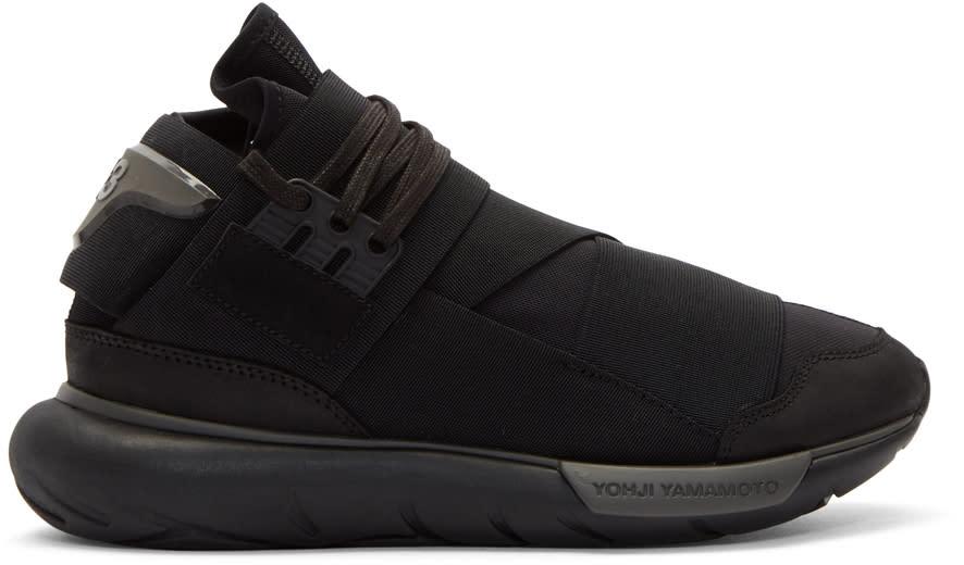 Y-3 Baskets Noires Qasa High