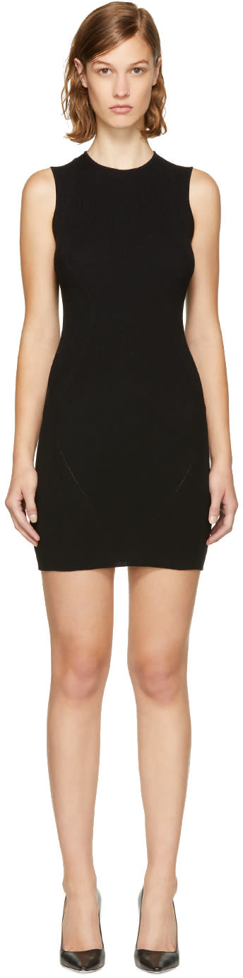 Image of Dsquared2 Black Bodycon Dress