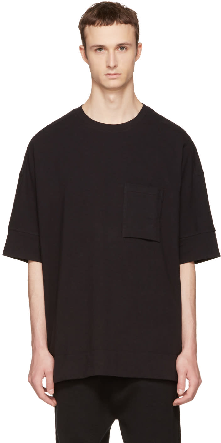 Helmut Lang Black Unisleeve T-shirt