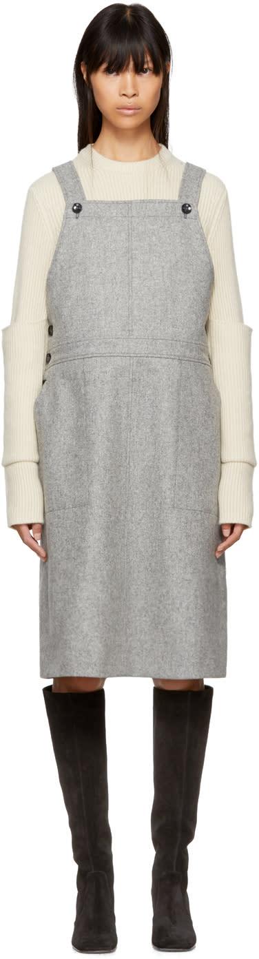 Image of Ymc Grey Anni Dress