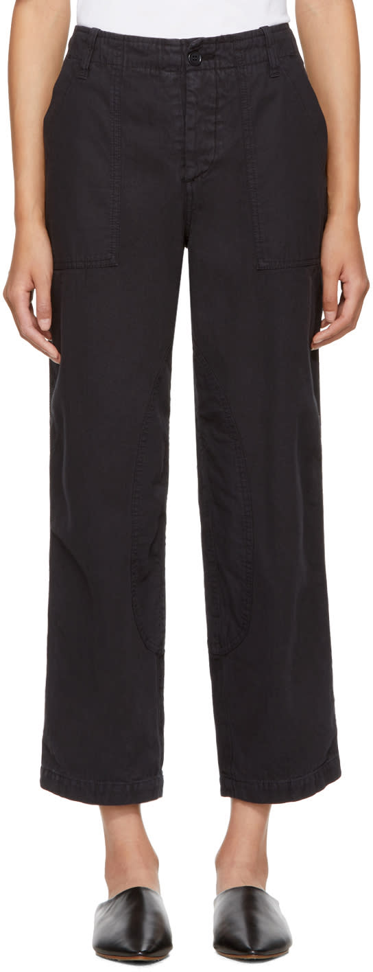 Image of Ymc Black Nam Trousers