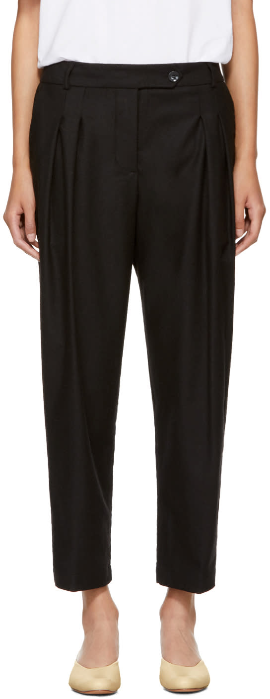 Image of Ymc Black Annie Trousers