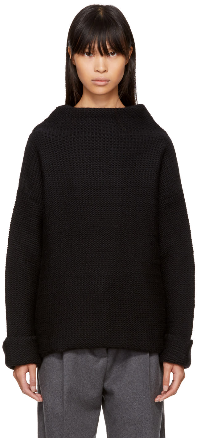 Image of Ymc Black Wool Turtleneck