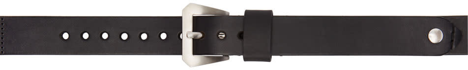 Maison Margiela Black Replica navy Watch Strap Belt