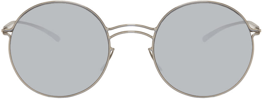 Maison Margiela Silver Mykita Edition Mmesse013 Sunglasses