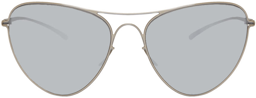 Maison Margiela Silver Mykita Edition Mmesse015 Sunglasses