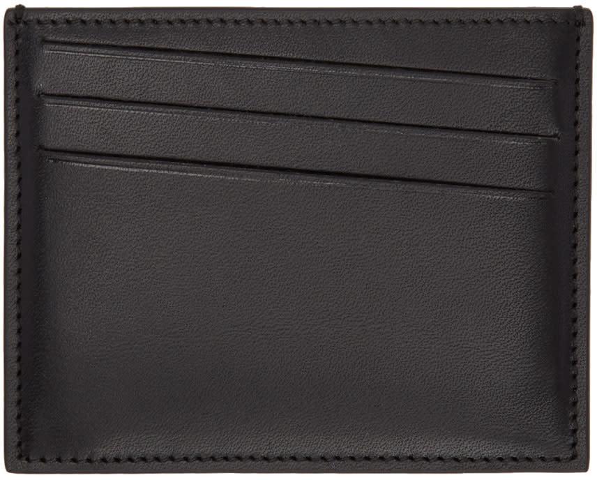 Maison Margiela Black Leather Card Holder