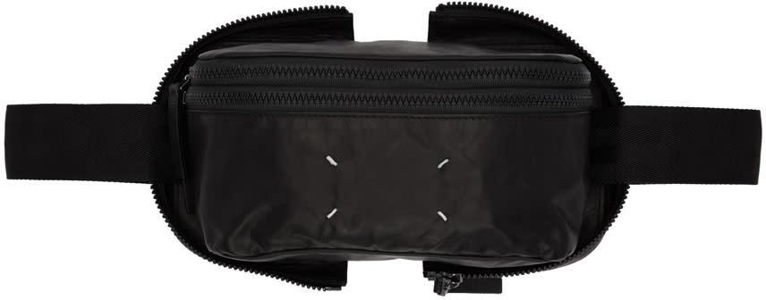 Maison Margiela Black Leather Belt Pouch