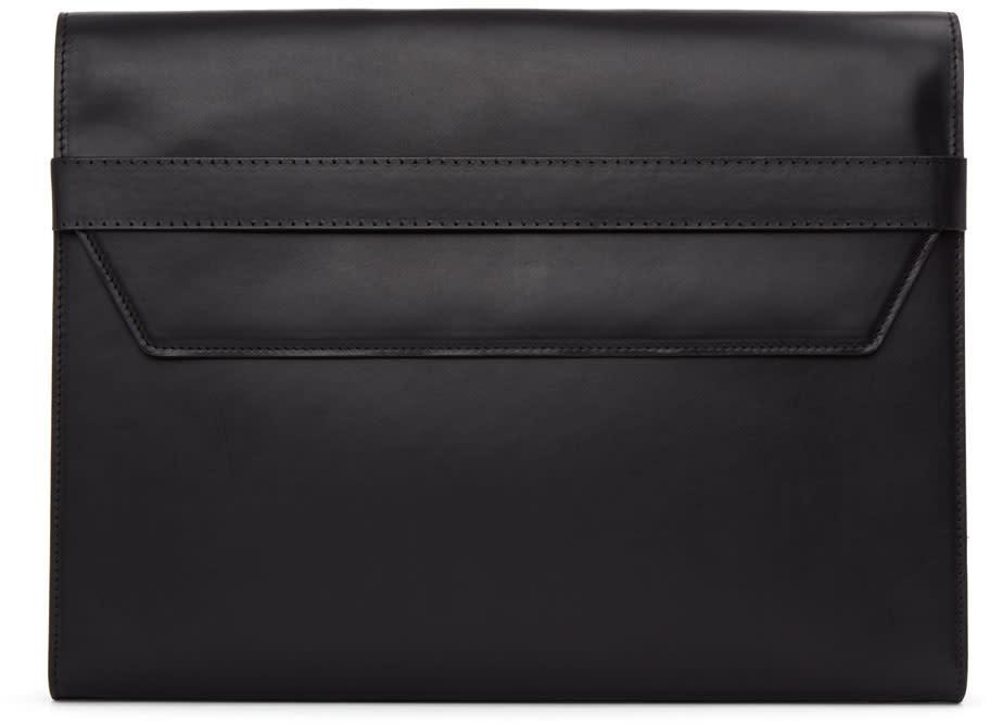 Maison Margiela Black Leather Portfolio