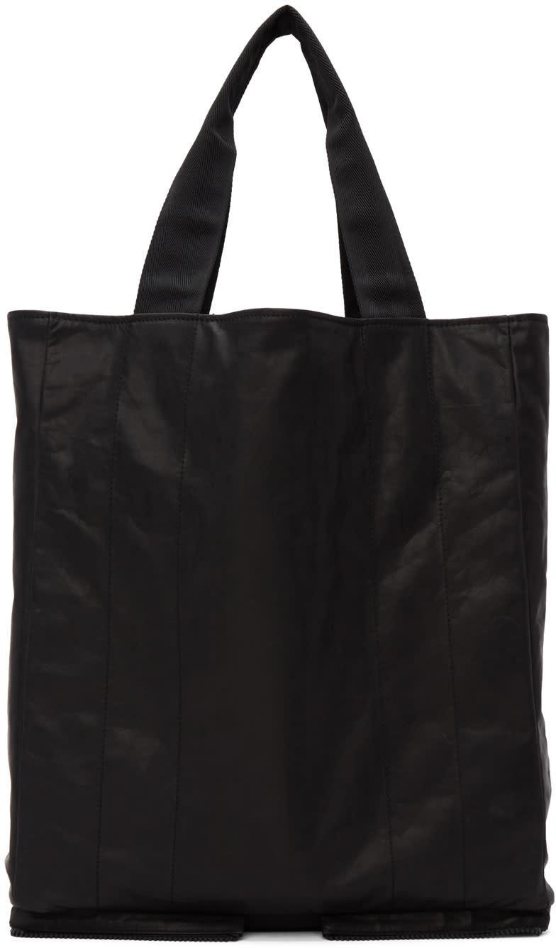 Maison Margiela Black Leather Tote