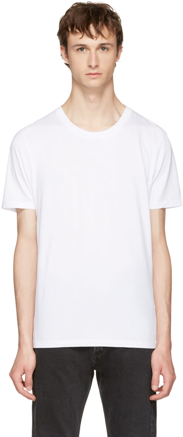 Maison Margiela ホワイト ステレオタイプ T シャツ 3 枚パック