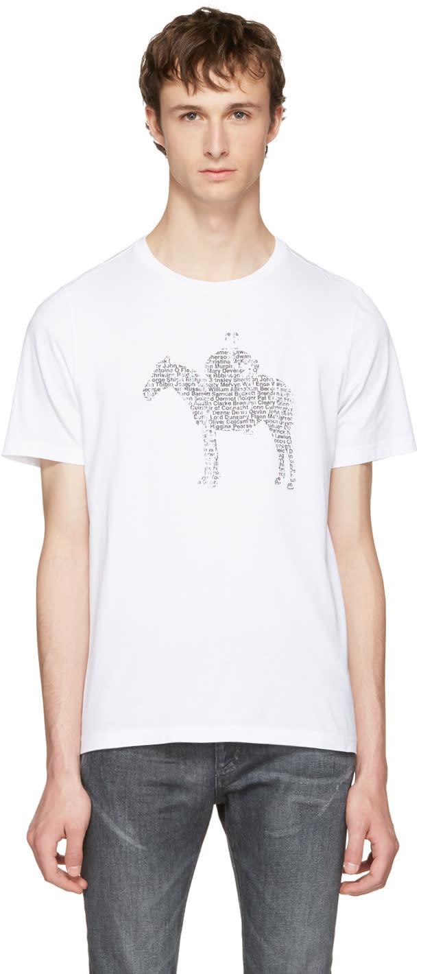 Maison Margiela White Pony Kid T-shirt