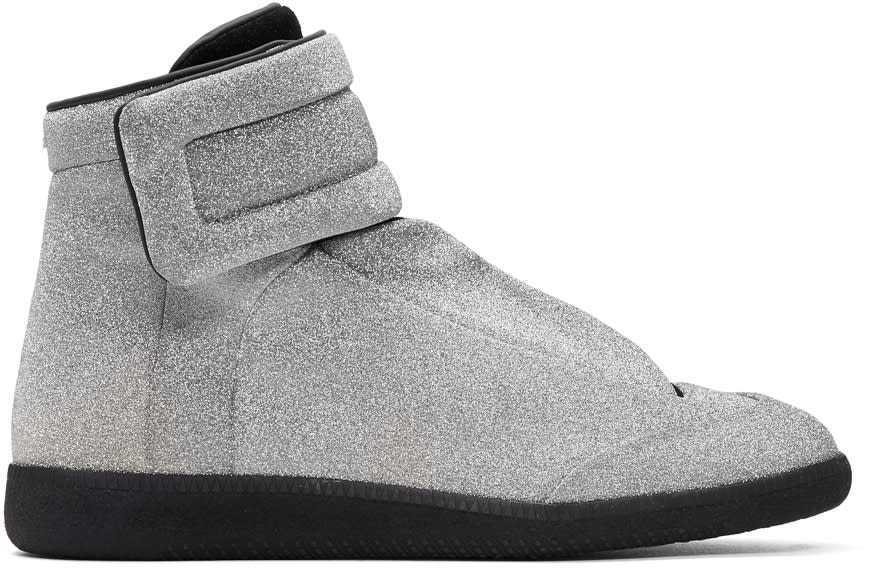Maison Margiela Silver Future High-top Sneakers