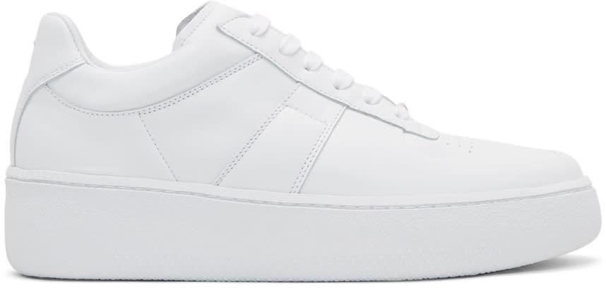 Maison Margiela White Chunky Sole Sneakers