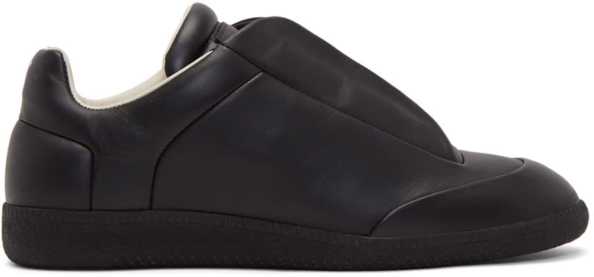 Maison Margiela Black Future Low Sneakers