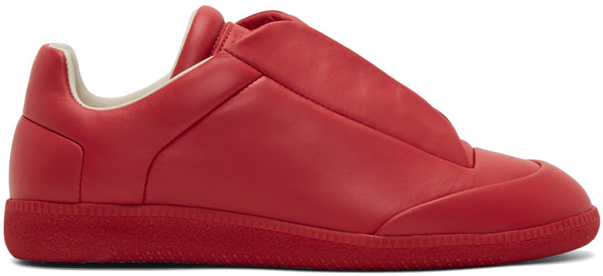 Maison Margiela Red Future Low Sneakers