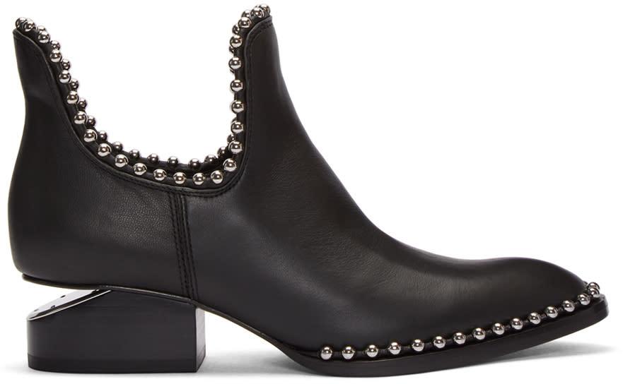Alexander Wang Black Ball Stud Kori Boots