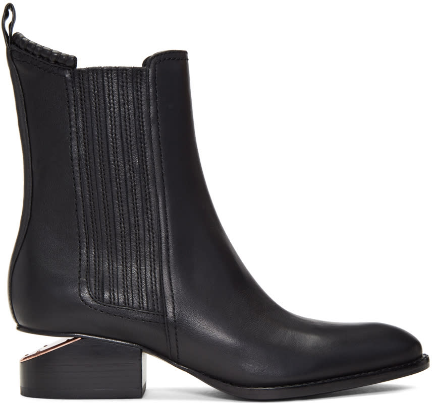Image of Alexander Wang Black Anouck Boots