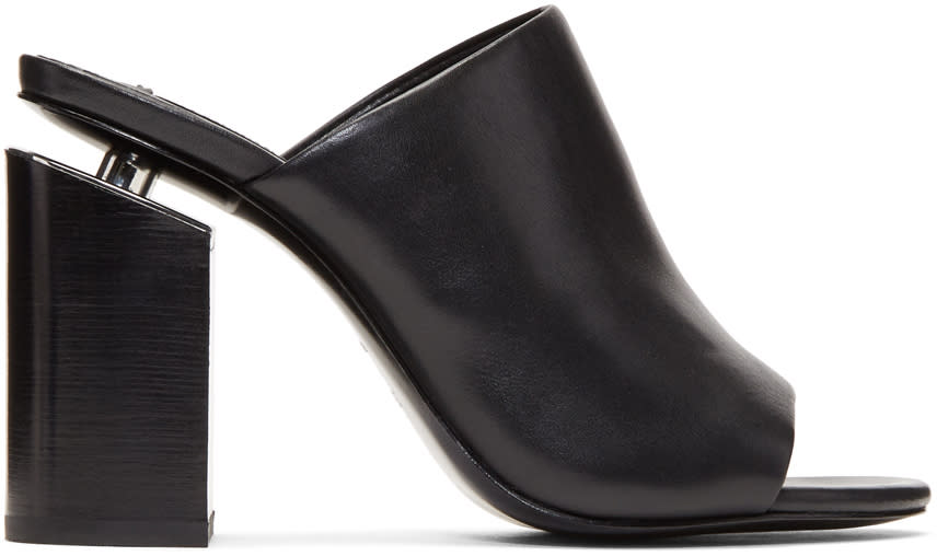 Image of Alexander Wang Black Avery Mules