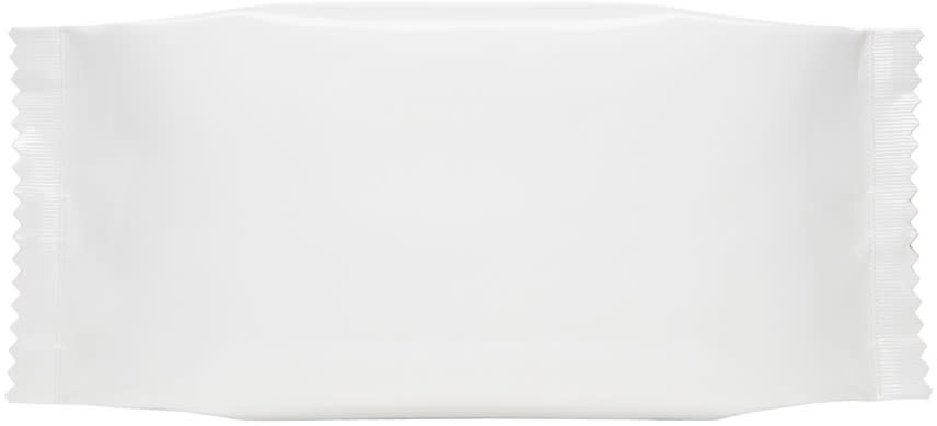 Mm6 Maison Margiela White Candy Wrapper Clutch