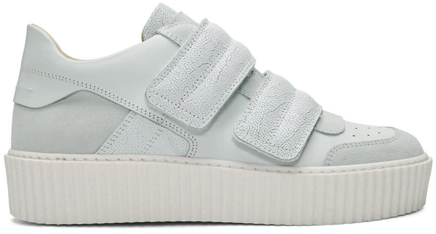 Mm6 Maison Margiela White Platform Sneakers