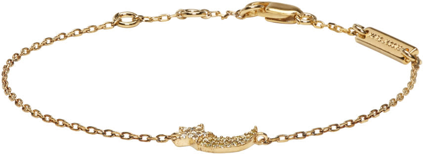 marc jacobs female marc jacobs gold shooting star something special bracelet